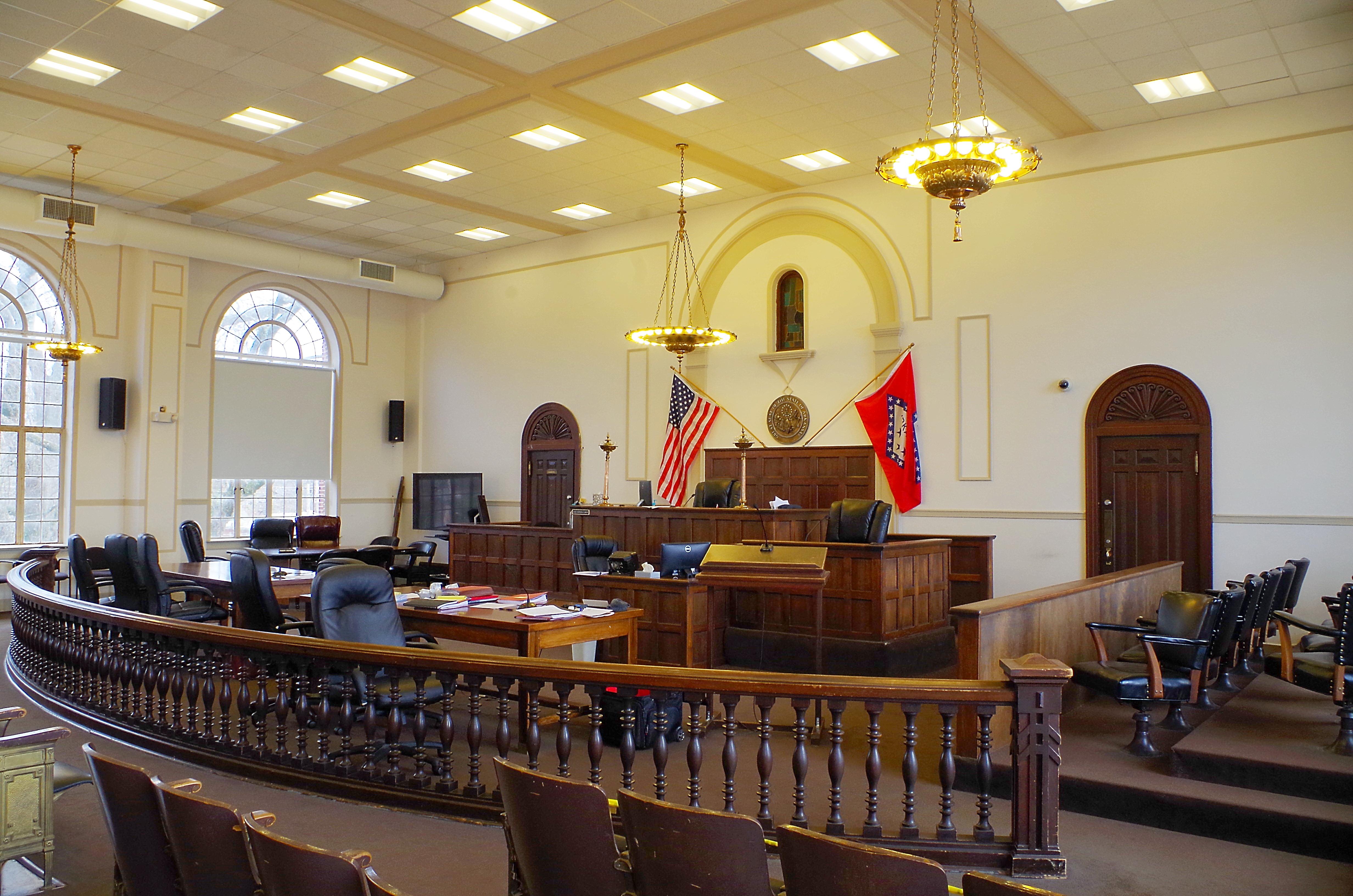 Lonoke County Us Courthouses