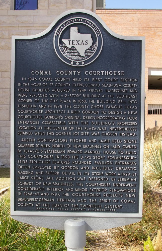 Comal County Us Courthouses
