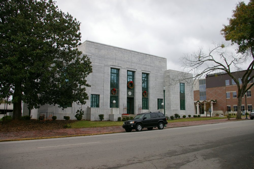Troup County Us Courthouses