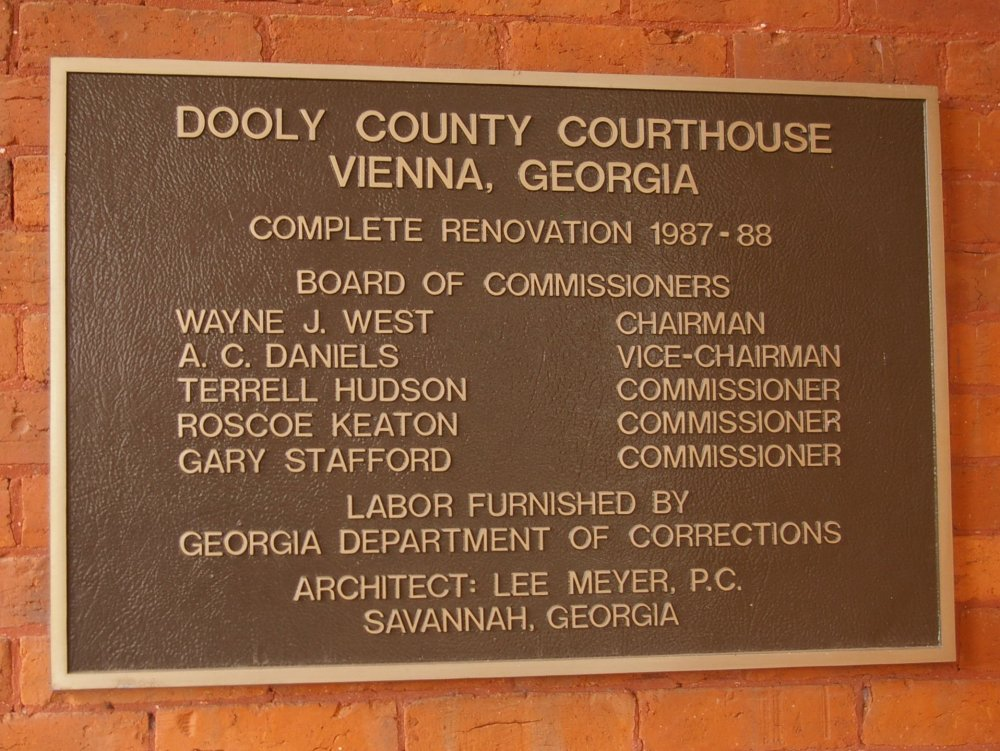 Dooly County Us Courthouses