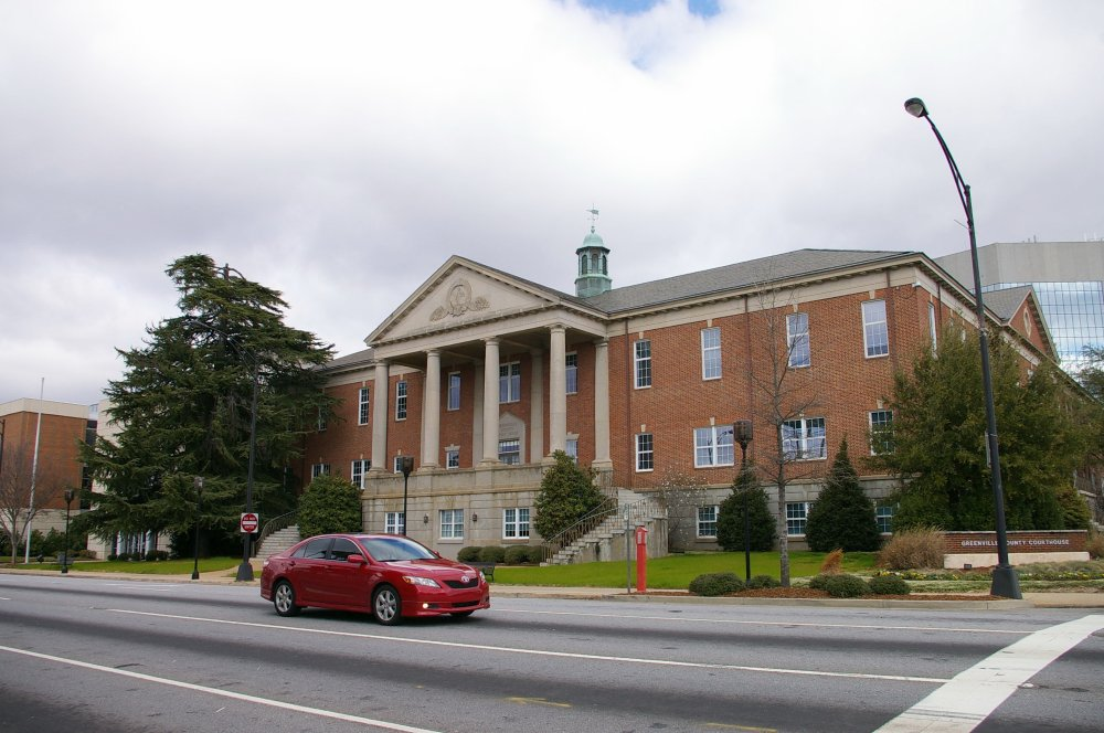 Greenville County Us Courthouses