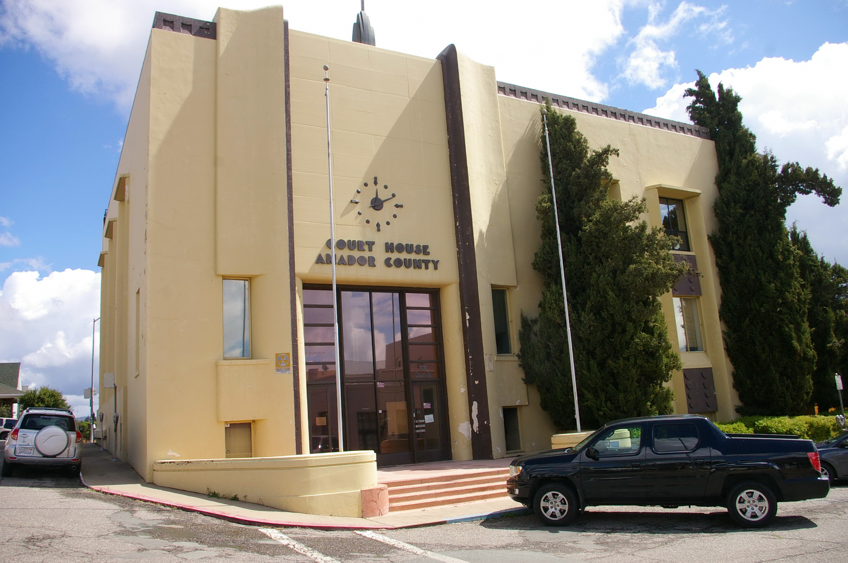 Amador County Us Courthouses