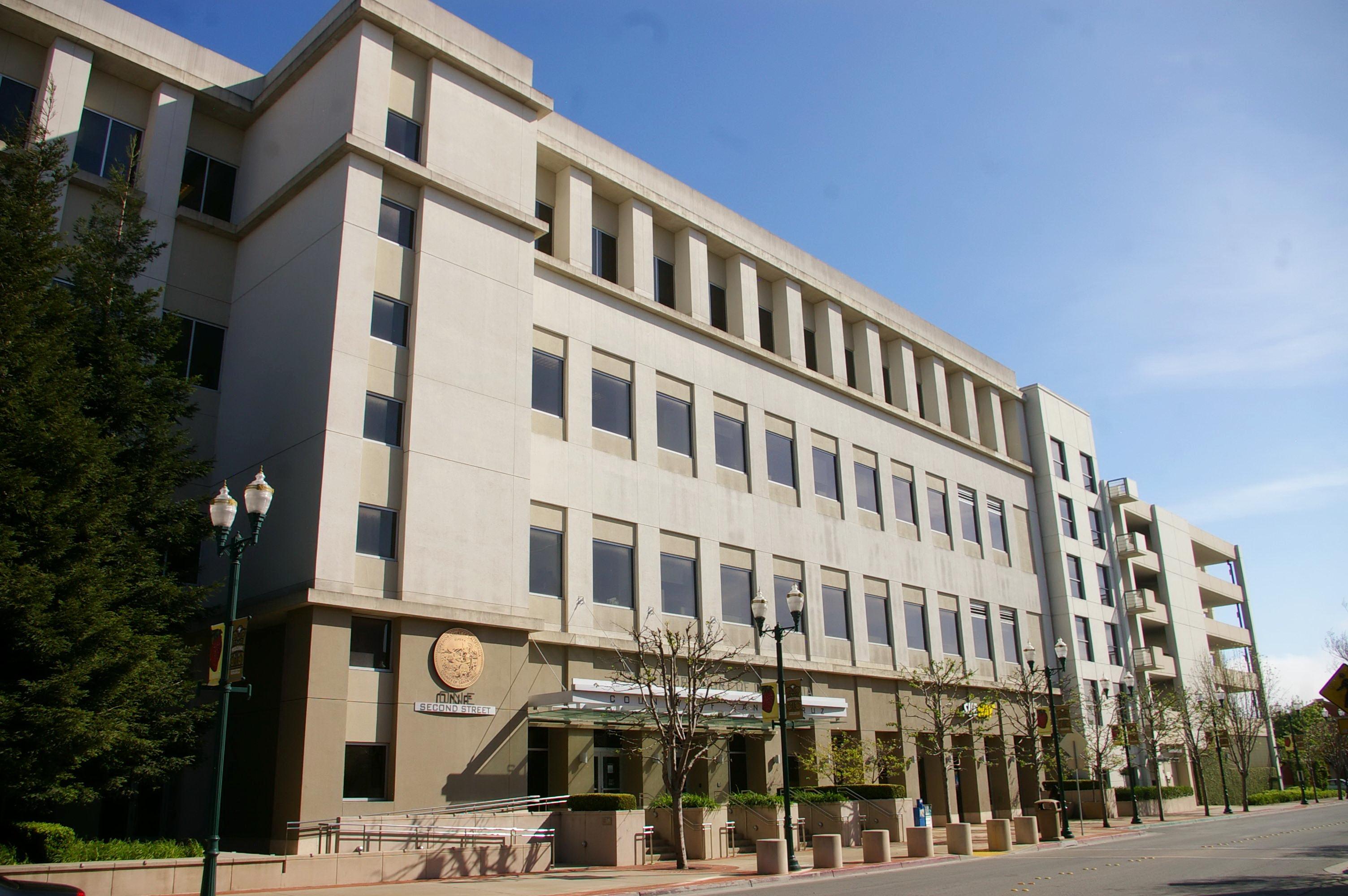 Santa Cruz County Watsonville Us Courthouses