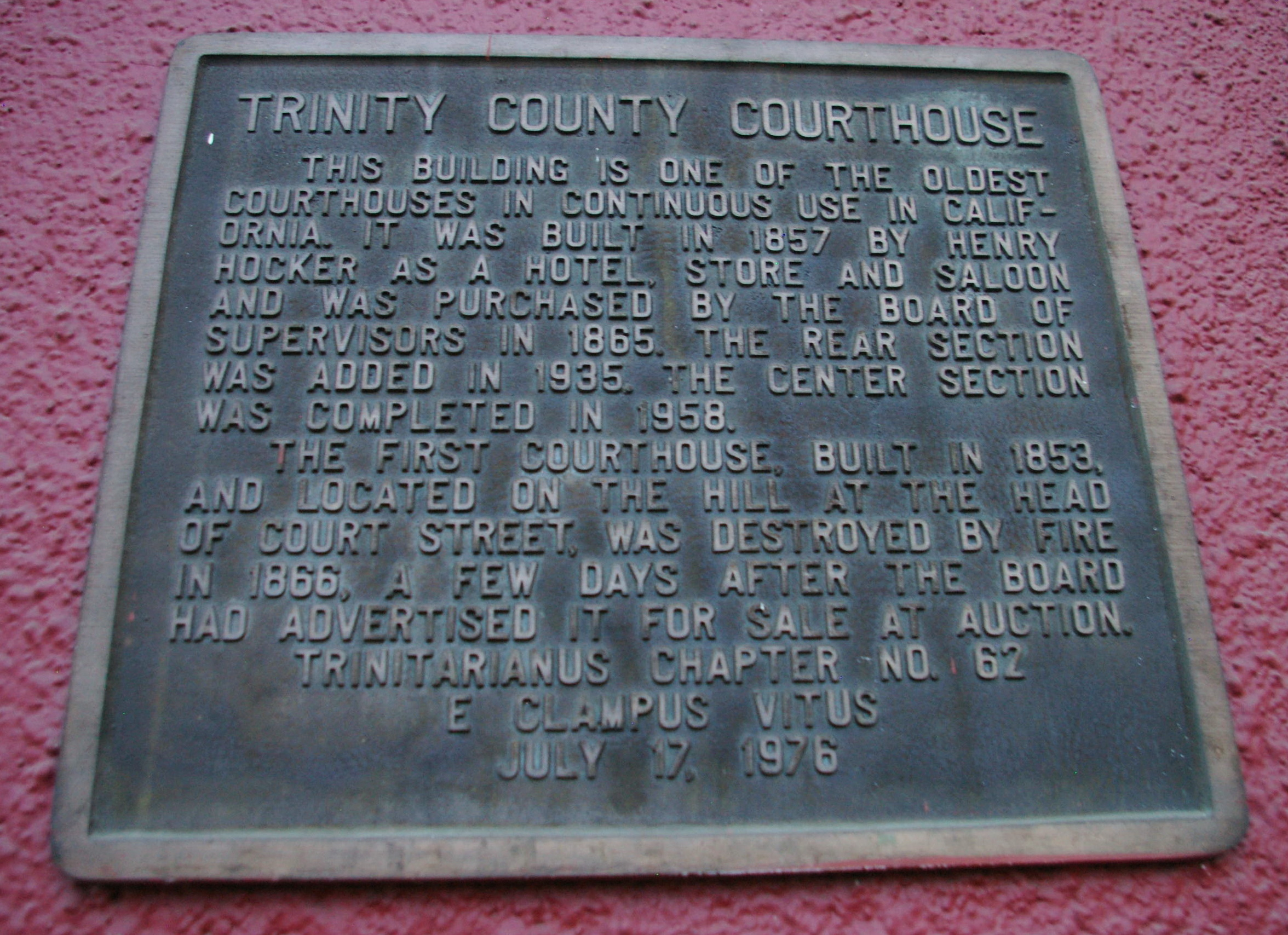 Trinity County Us Courthouses