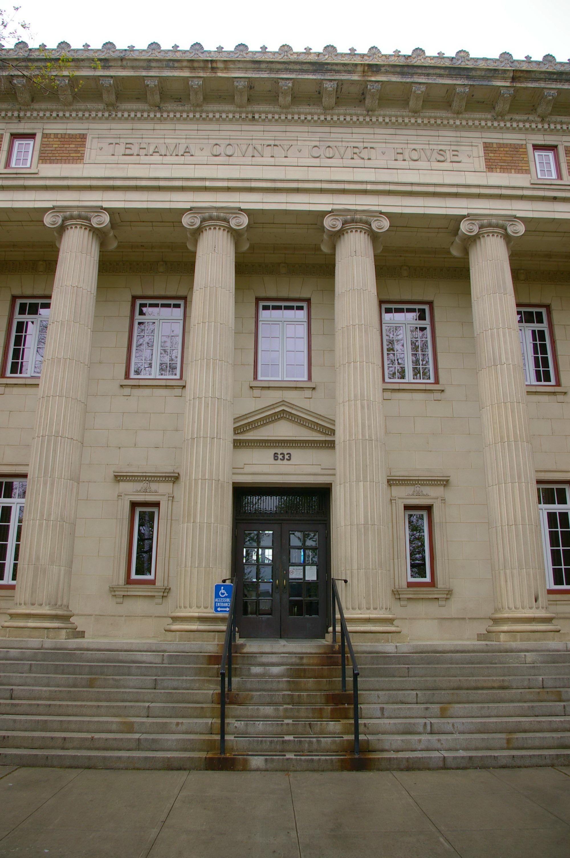 Tehama County Us Courthouses