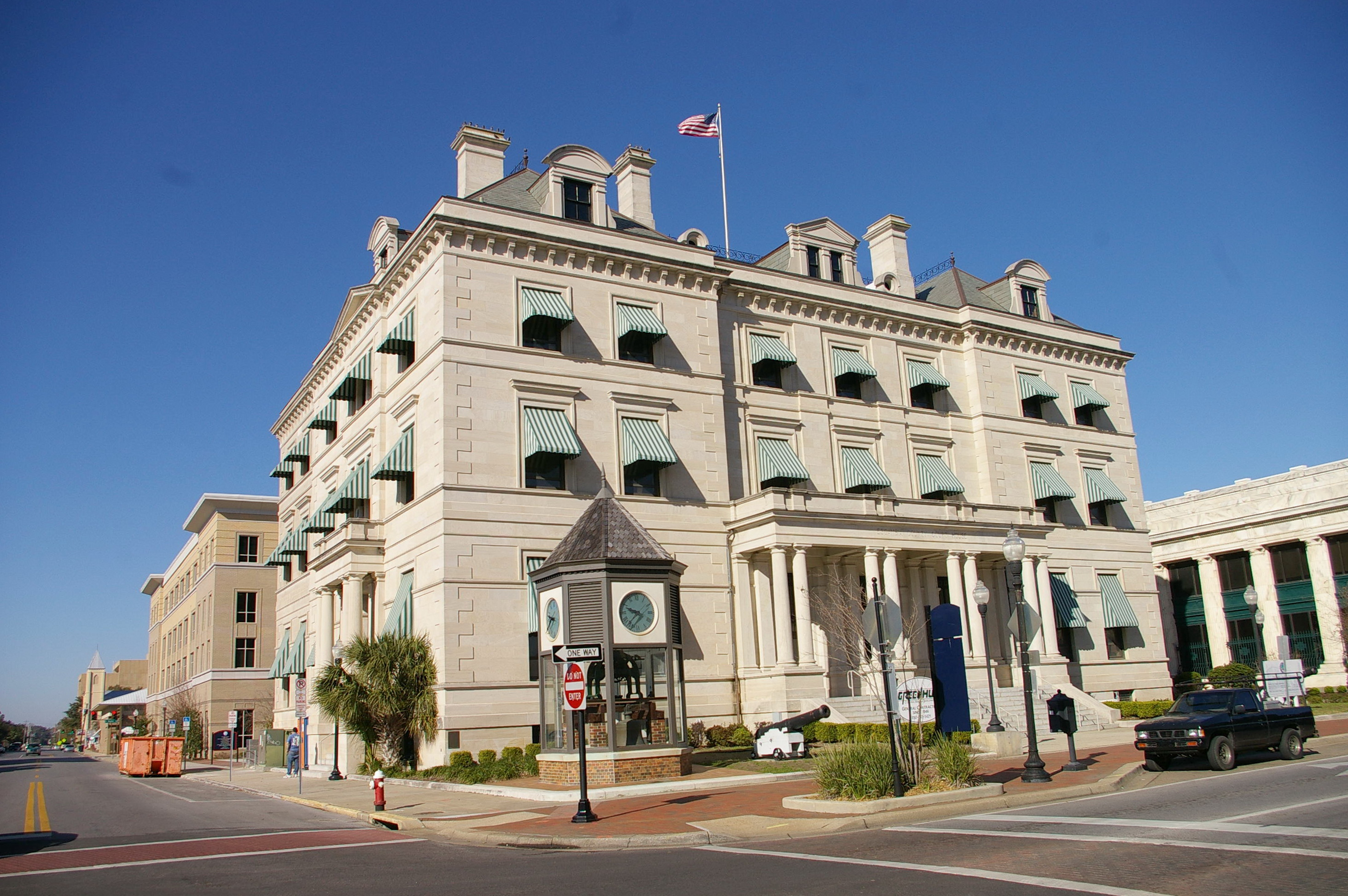 escambia county Escambia county was created in 1821 it was named for the escambia river,  whose name in turn comes from a spanish word for barter or.