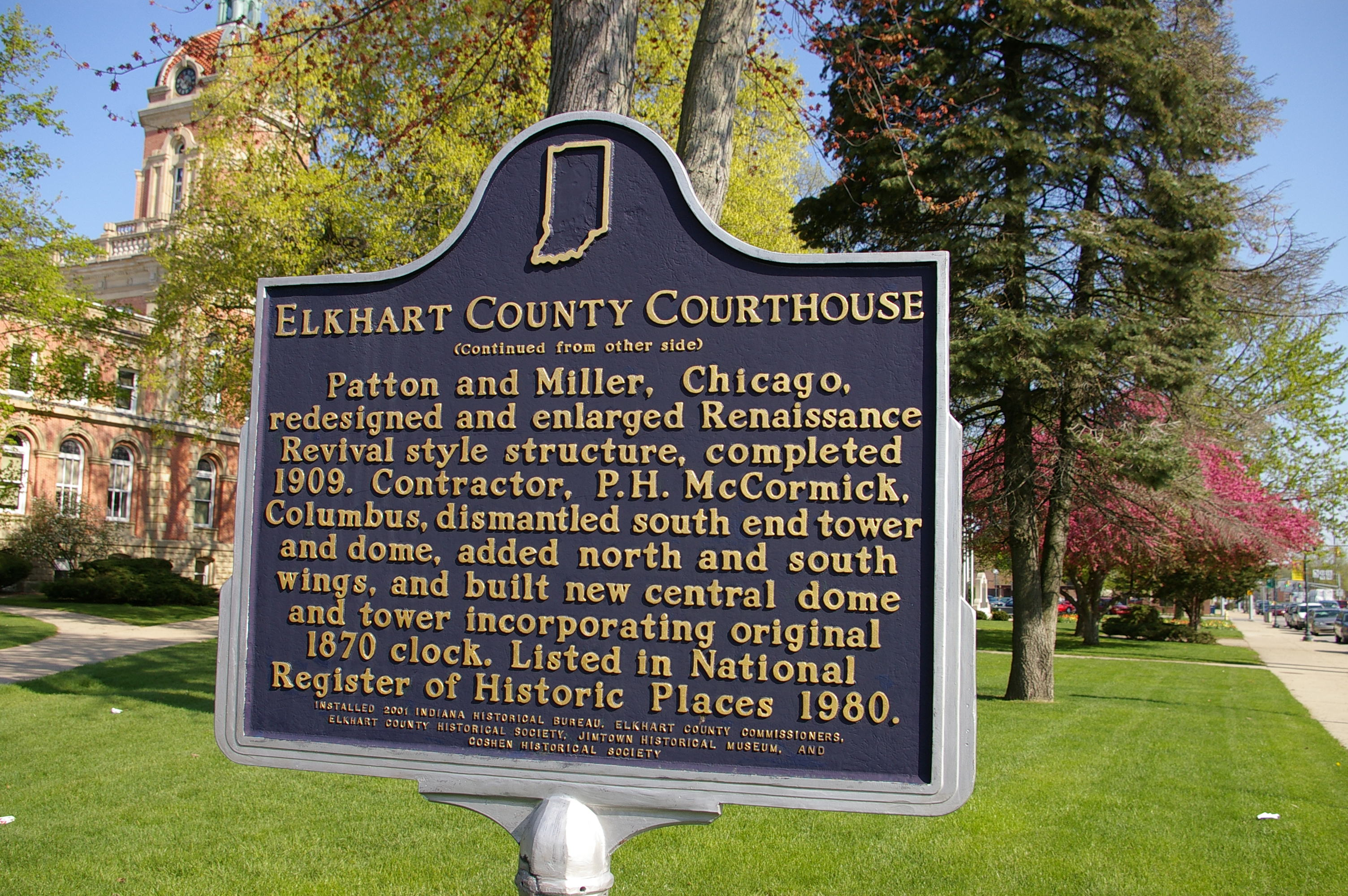 Elkhart County Us Courthouses