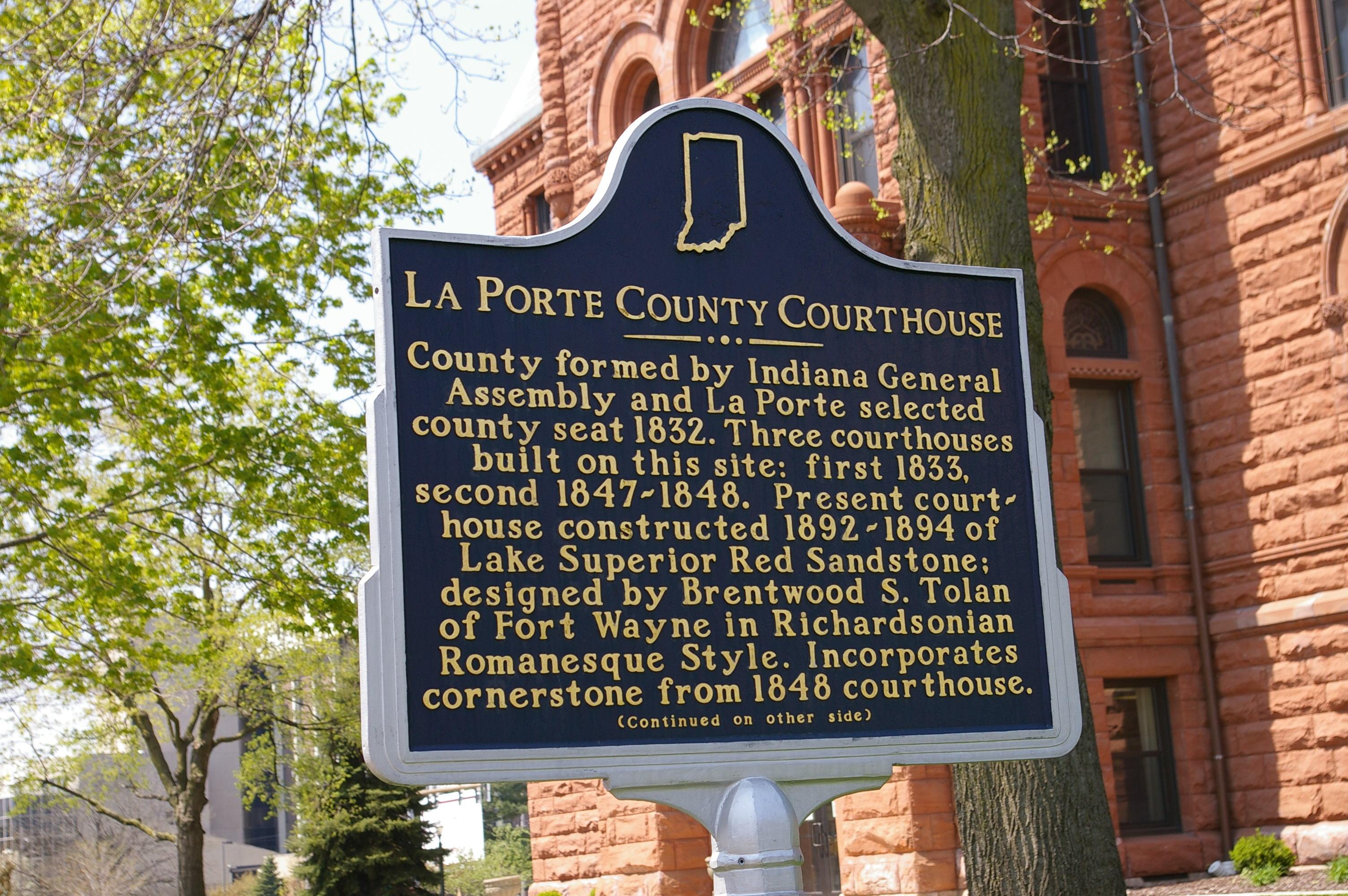 Laporte County Us Courthouses