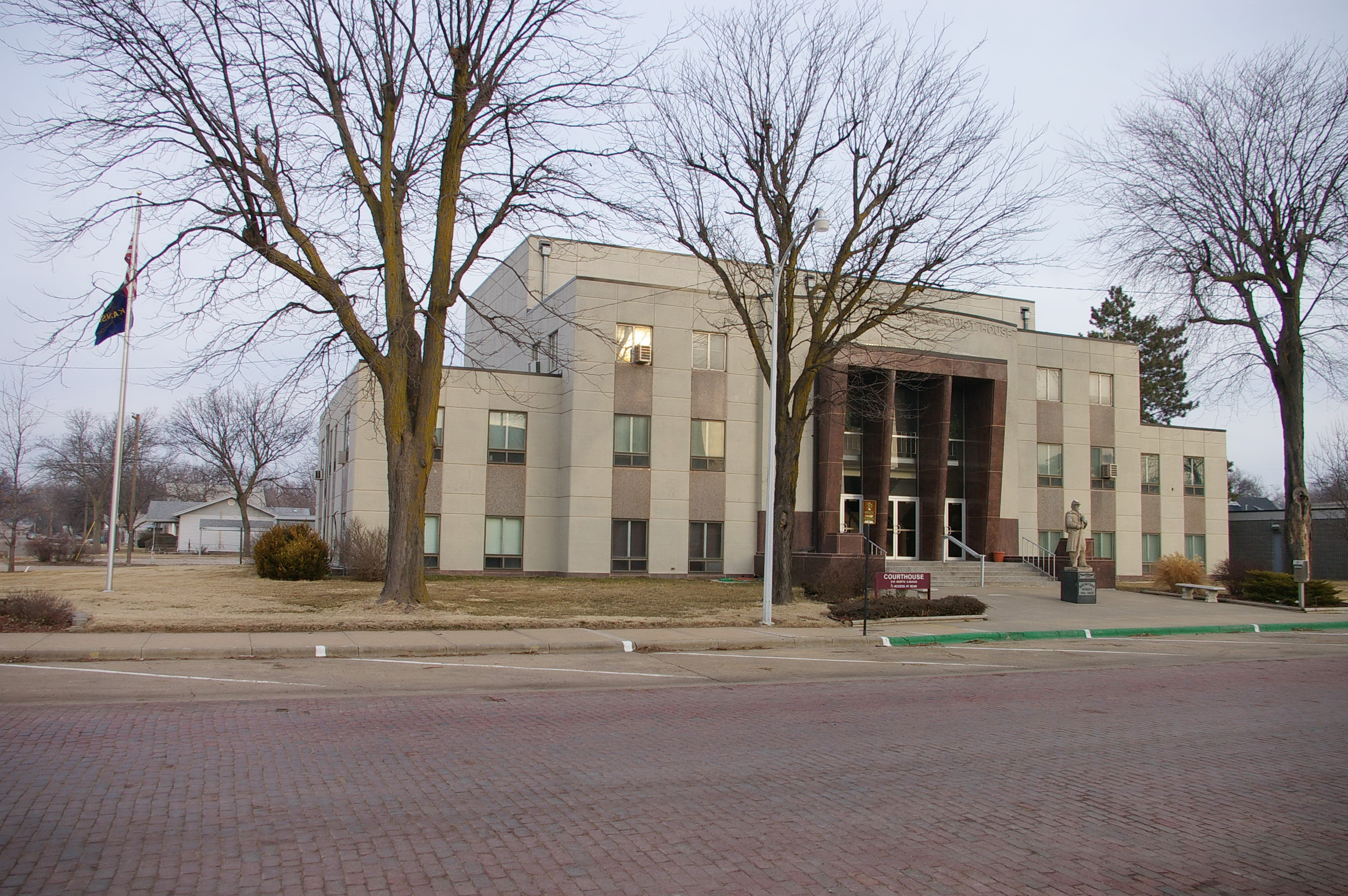 Ellsworth County Us Courthouses