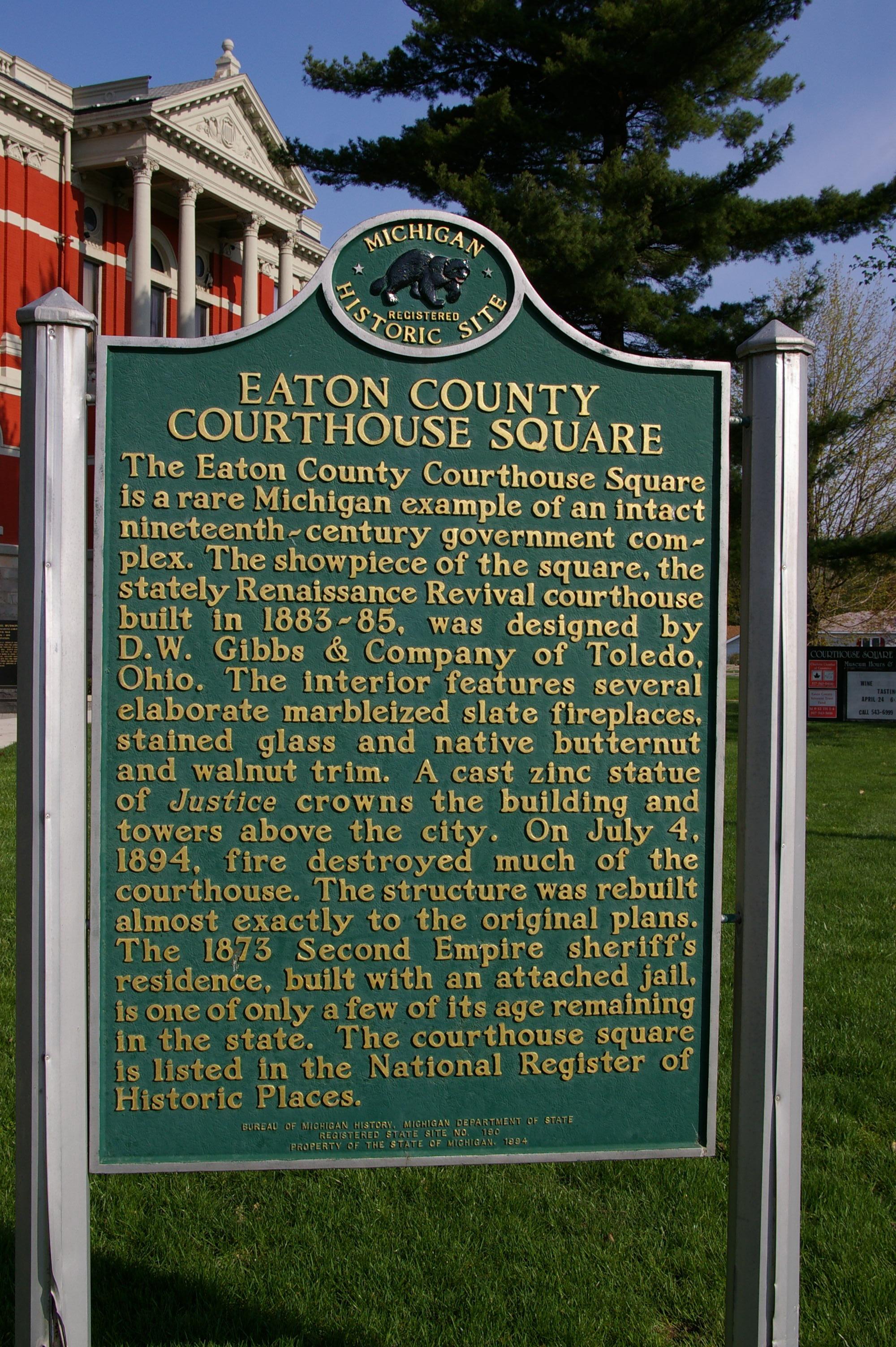 Eaton County Us Courthouses