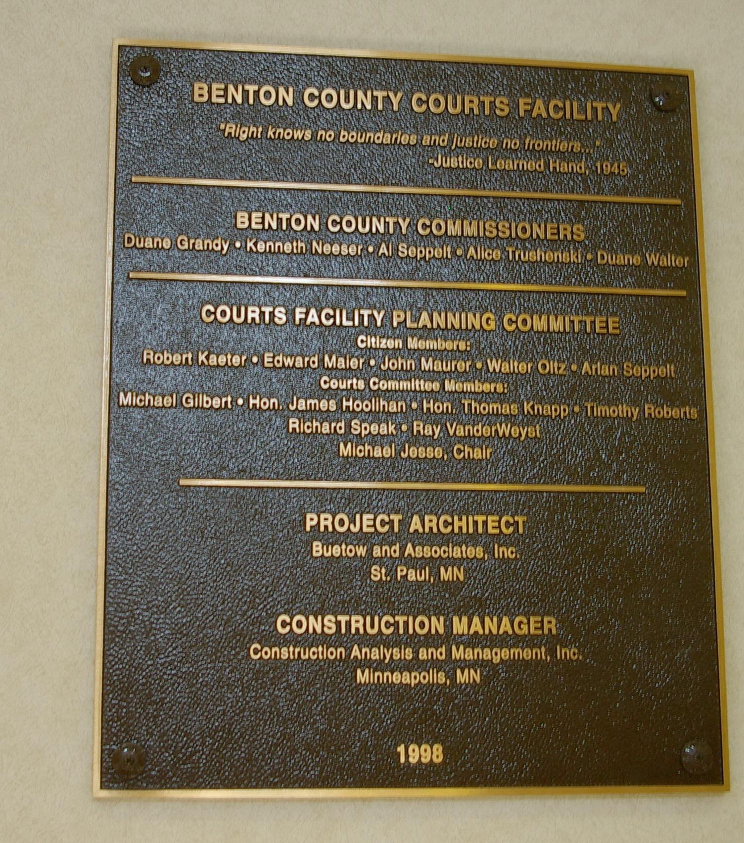 Benton County | US Courthouses