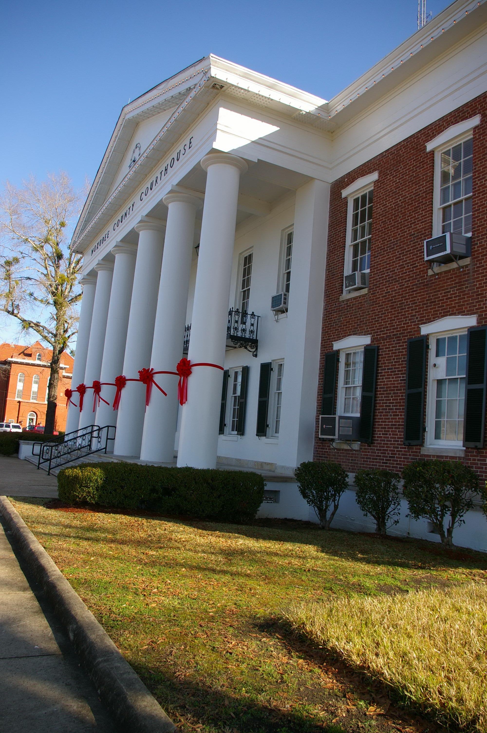 Noxubee County Us Courthouses
