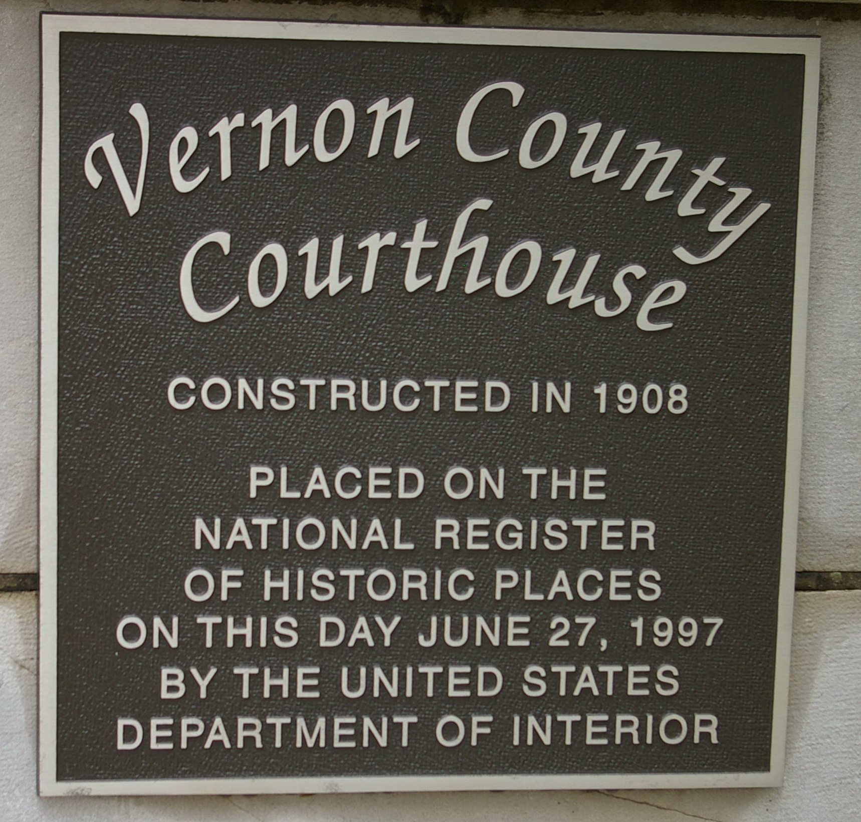 Vernon County | US Courthouses