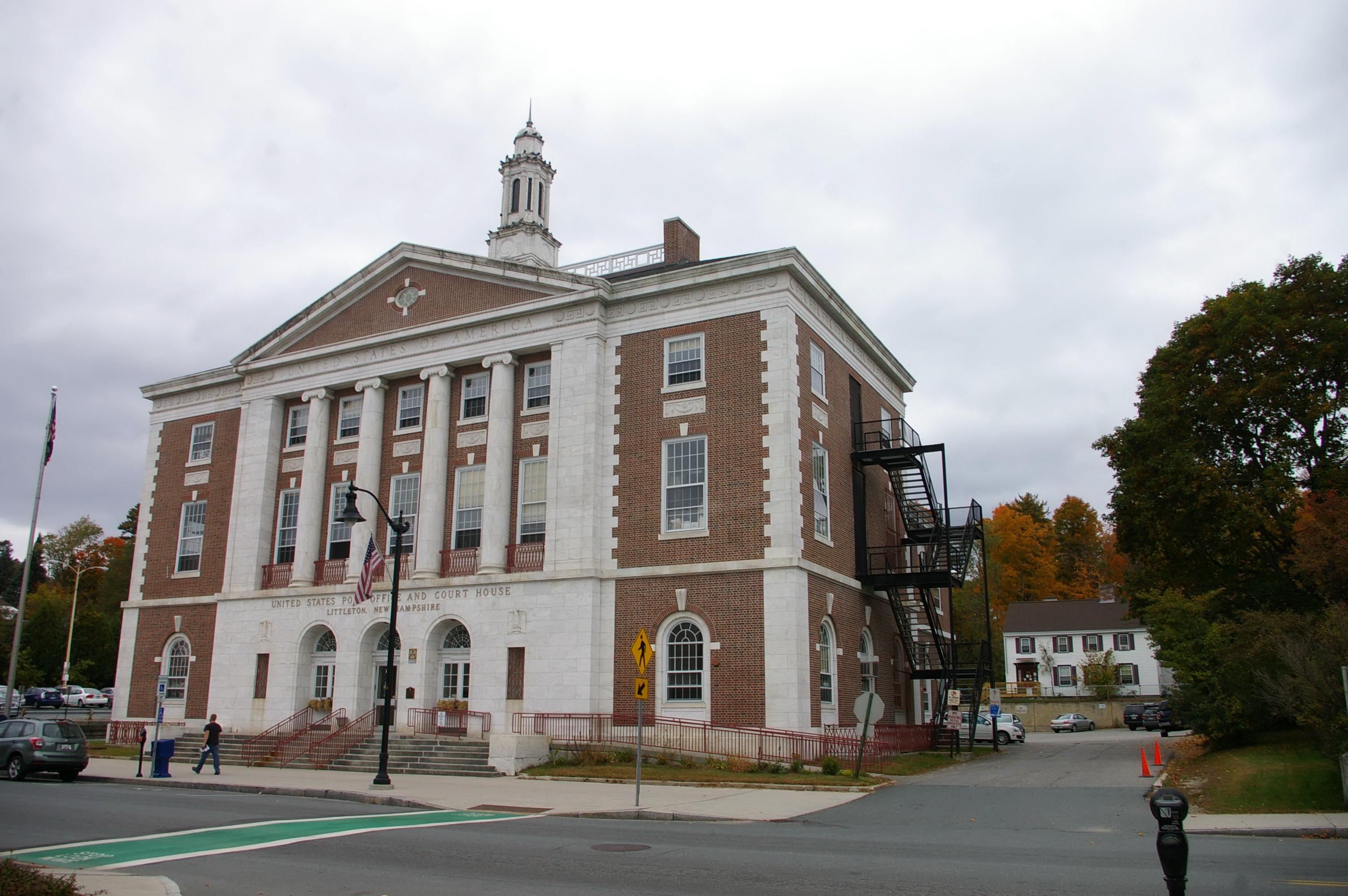 Grafton County Littleton Us Courthouses