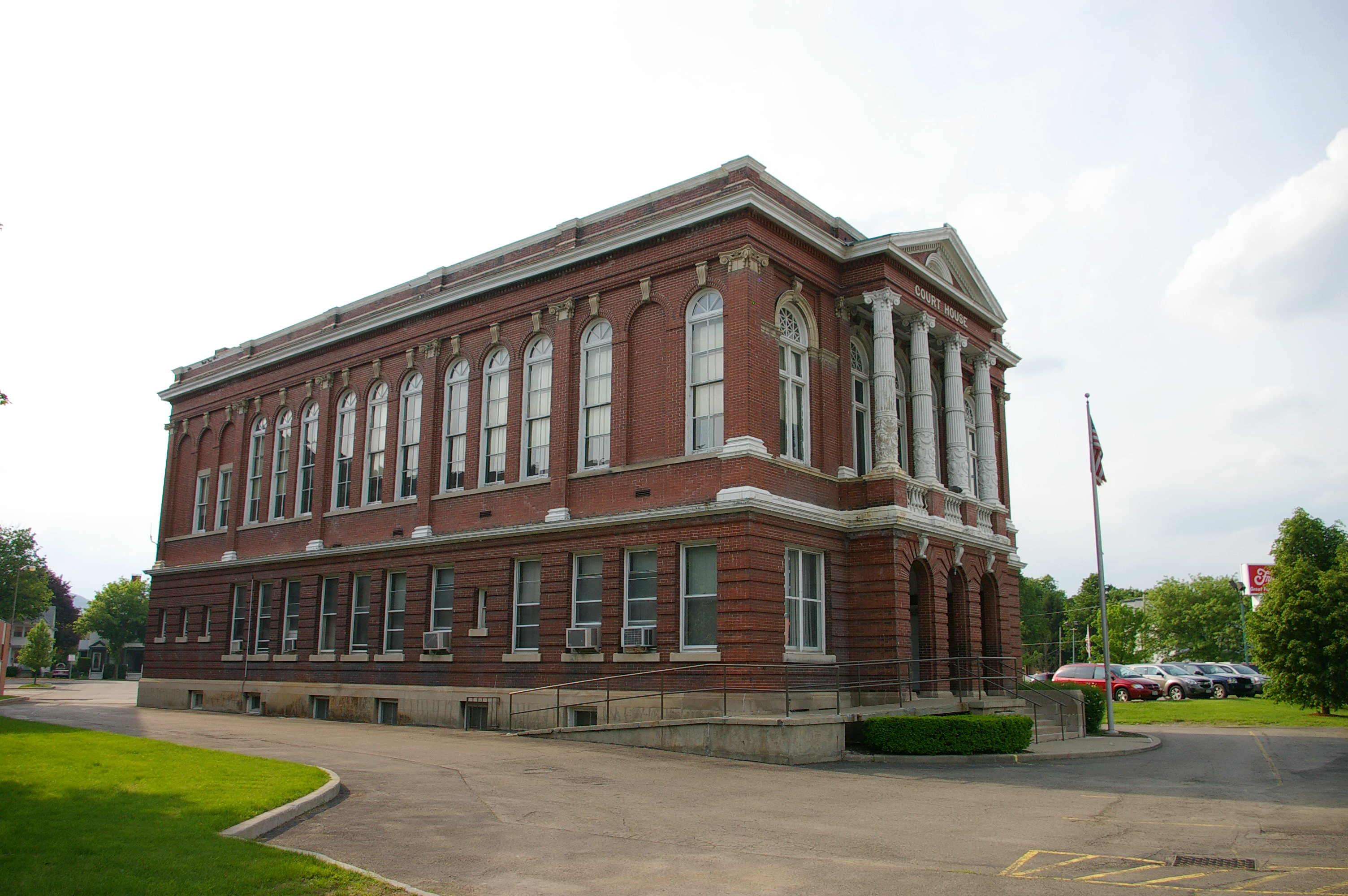 Steuben County Hornell Us Courthouses