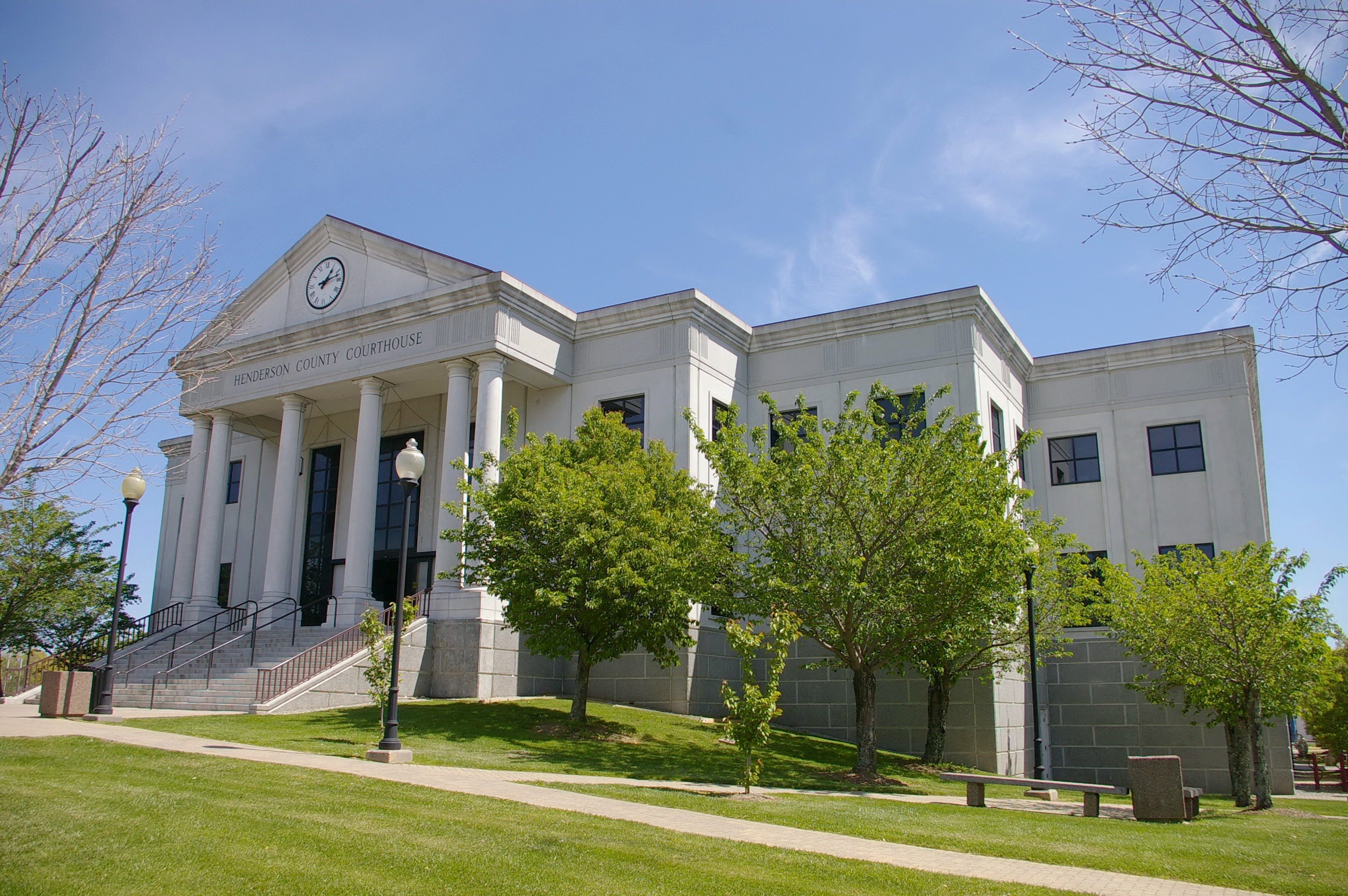 Henderson County Us Courthouses