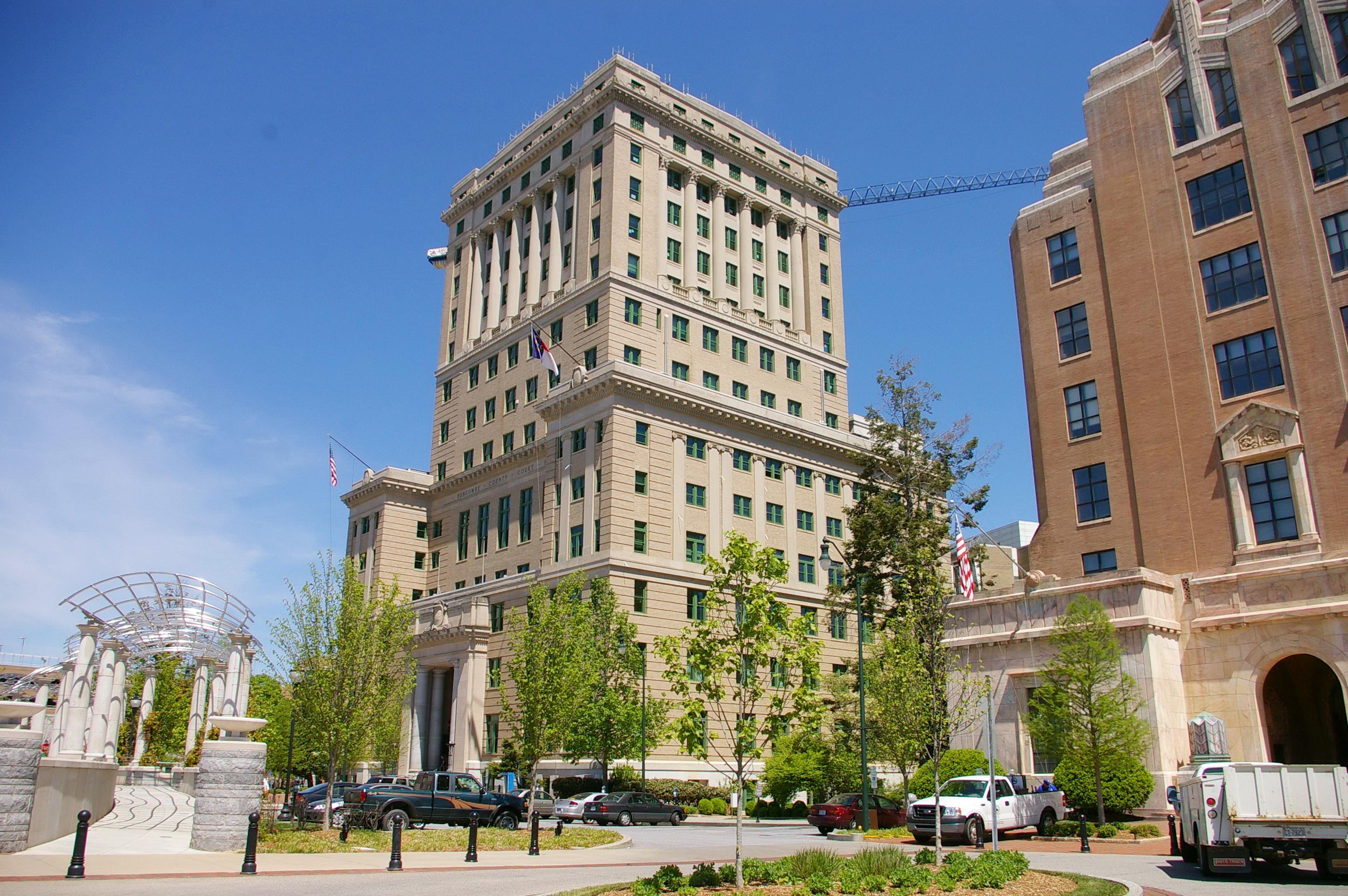 Buncombe County Us Courthouses