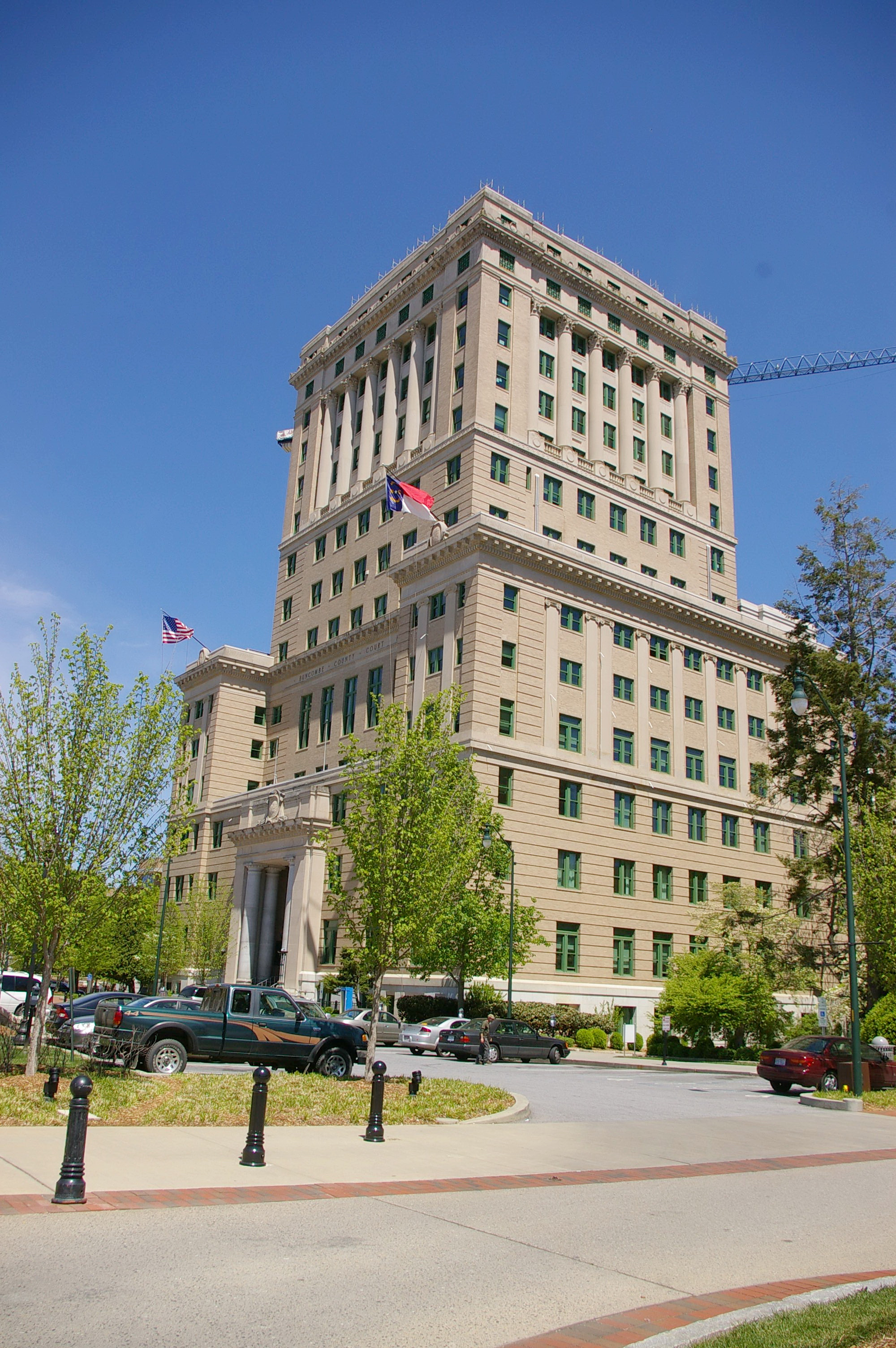 Buncombe County Us Courthouses