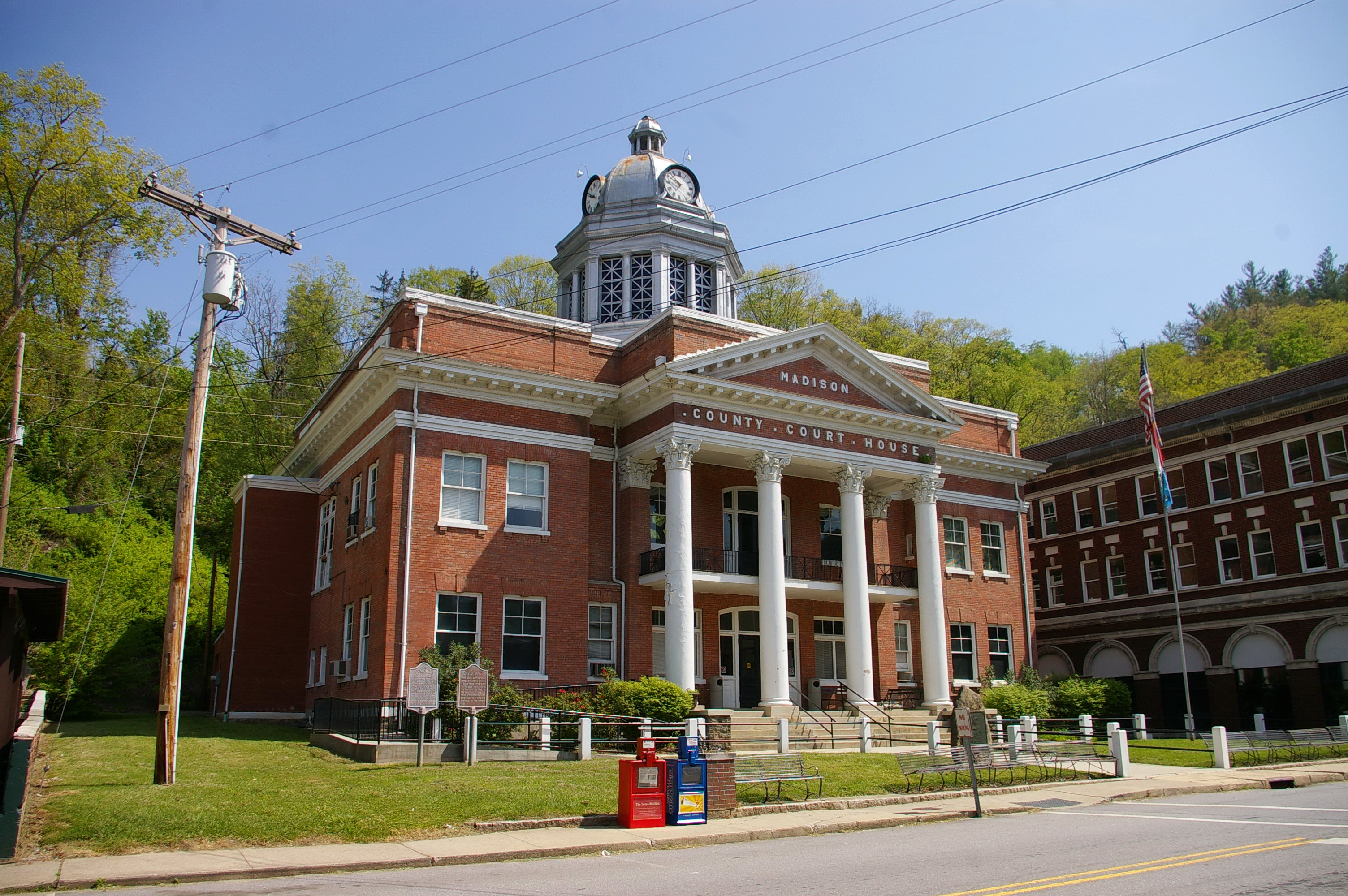 Madison County Us Courthouses