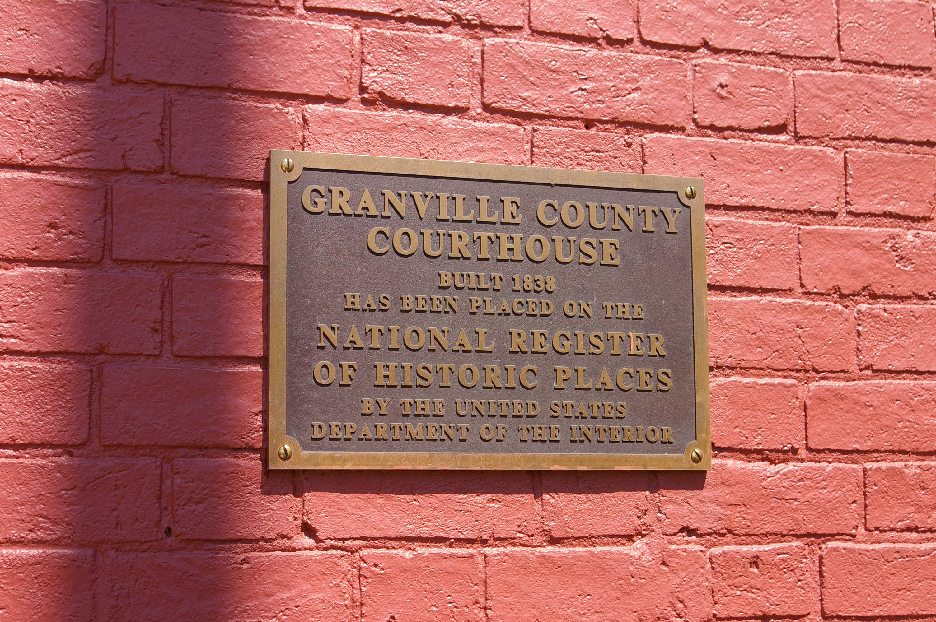 Granville County Us Courthouses