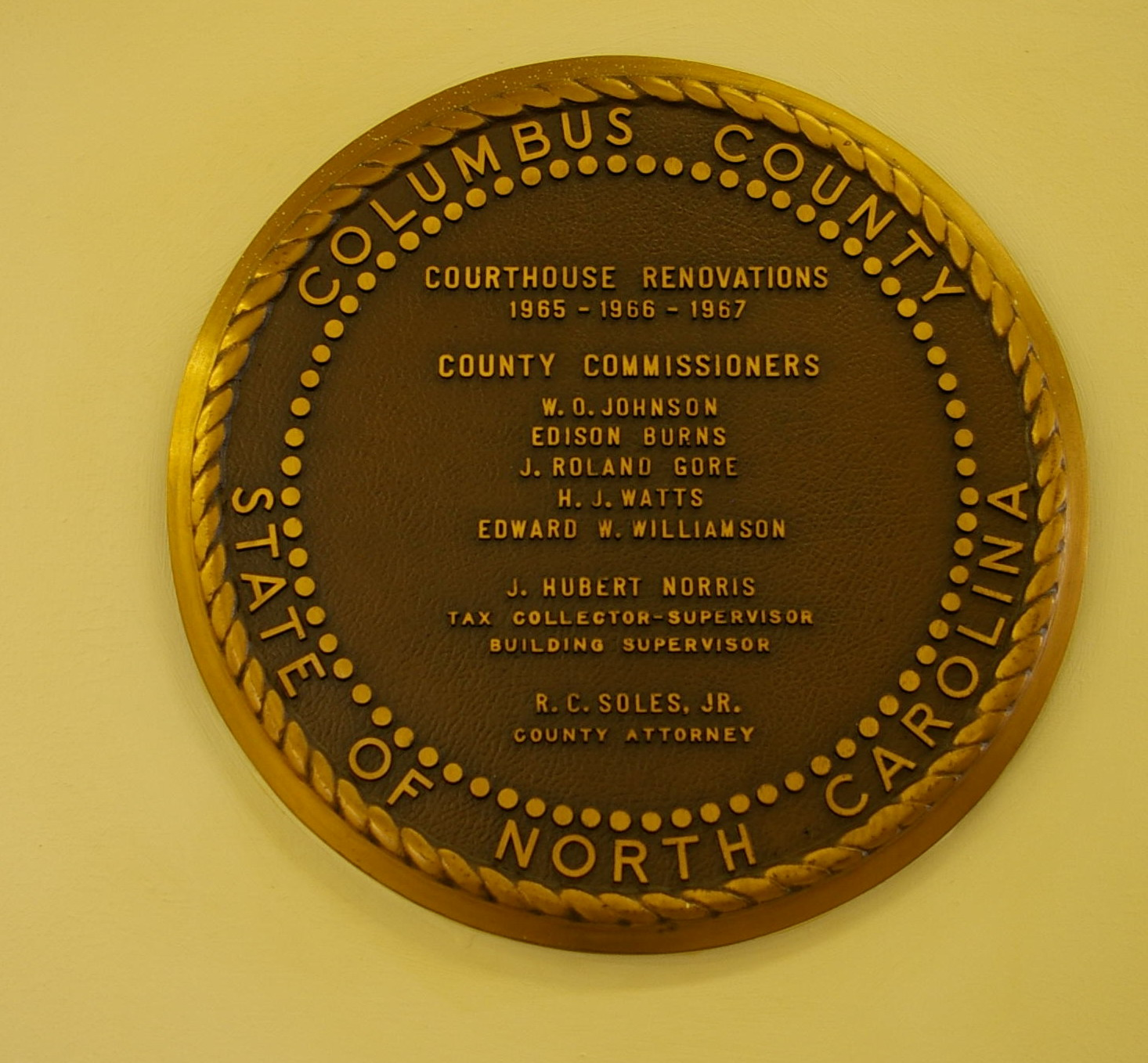 Columbus County Us Courthouses