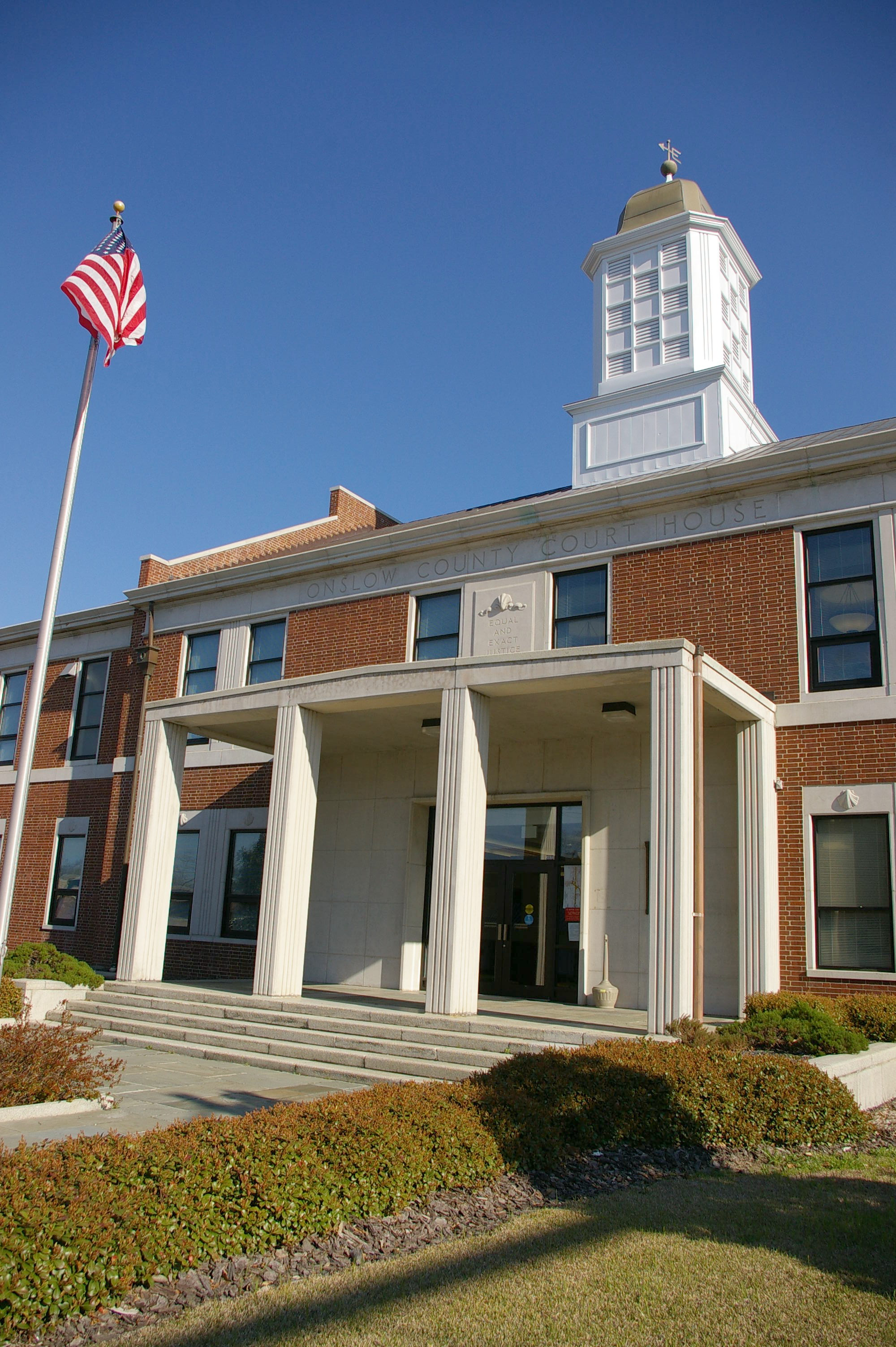 Onslow County Us Courthouses