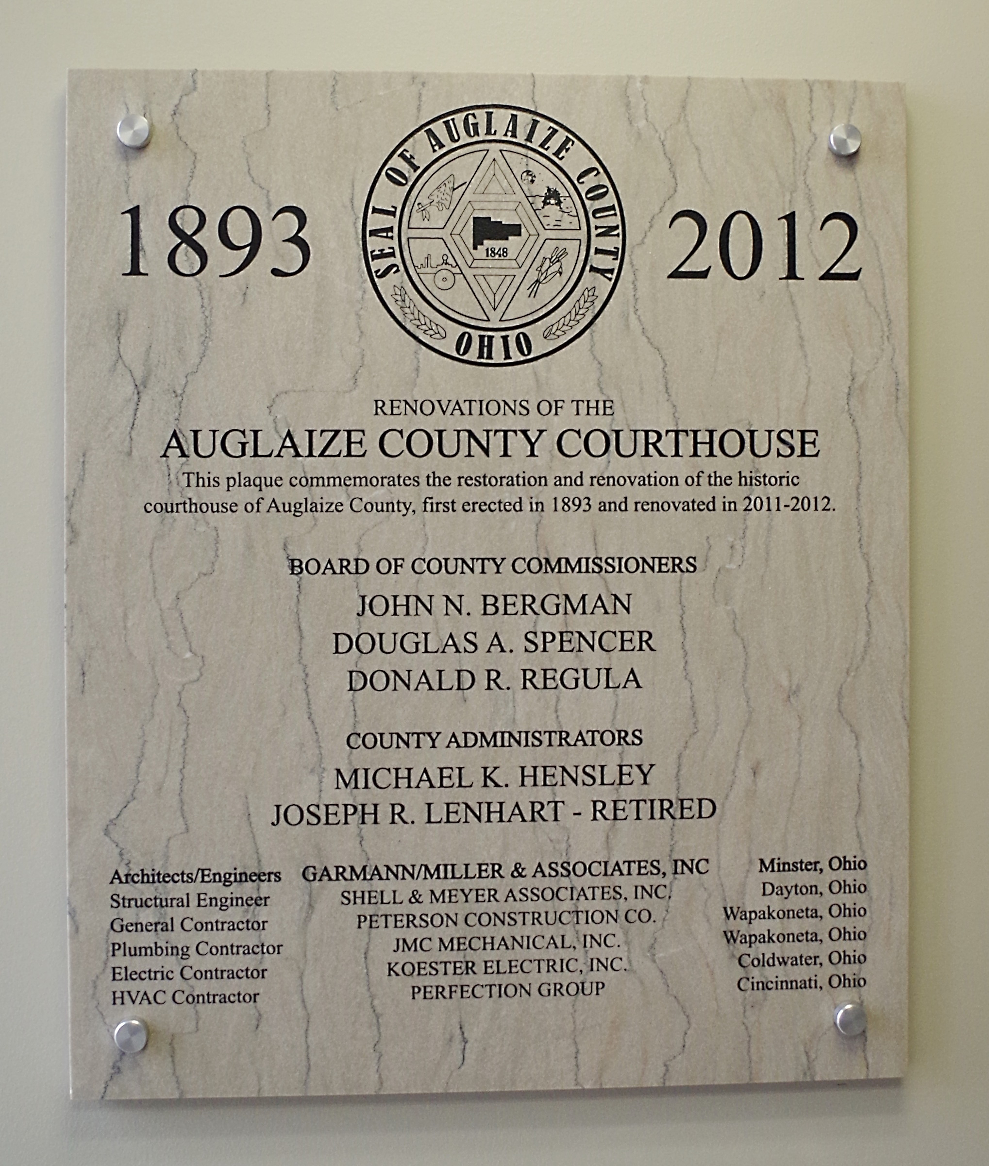 Auglaize County Us Courthouses