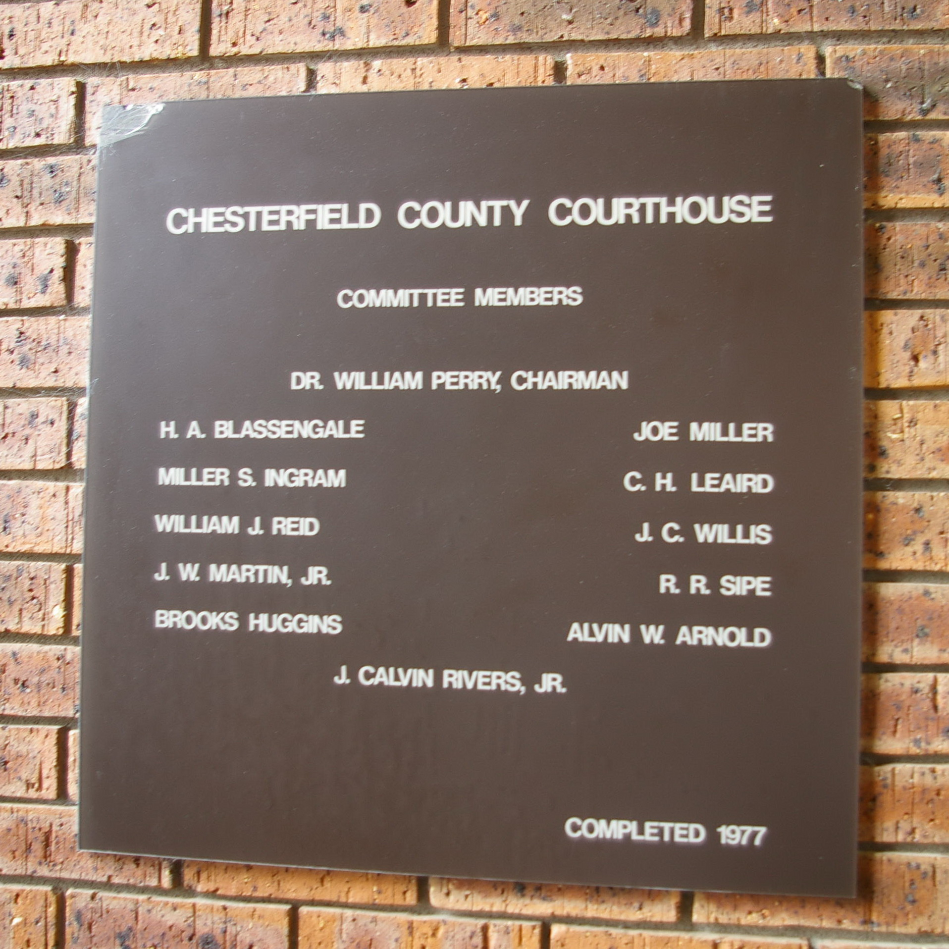 Chesterfield County Sc Administration Building