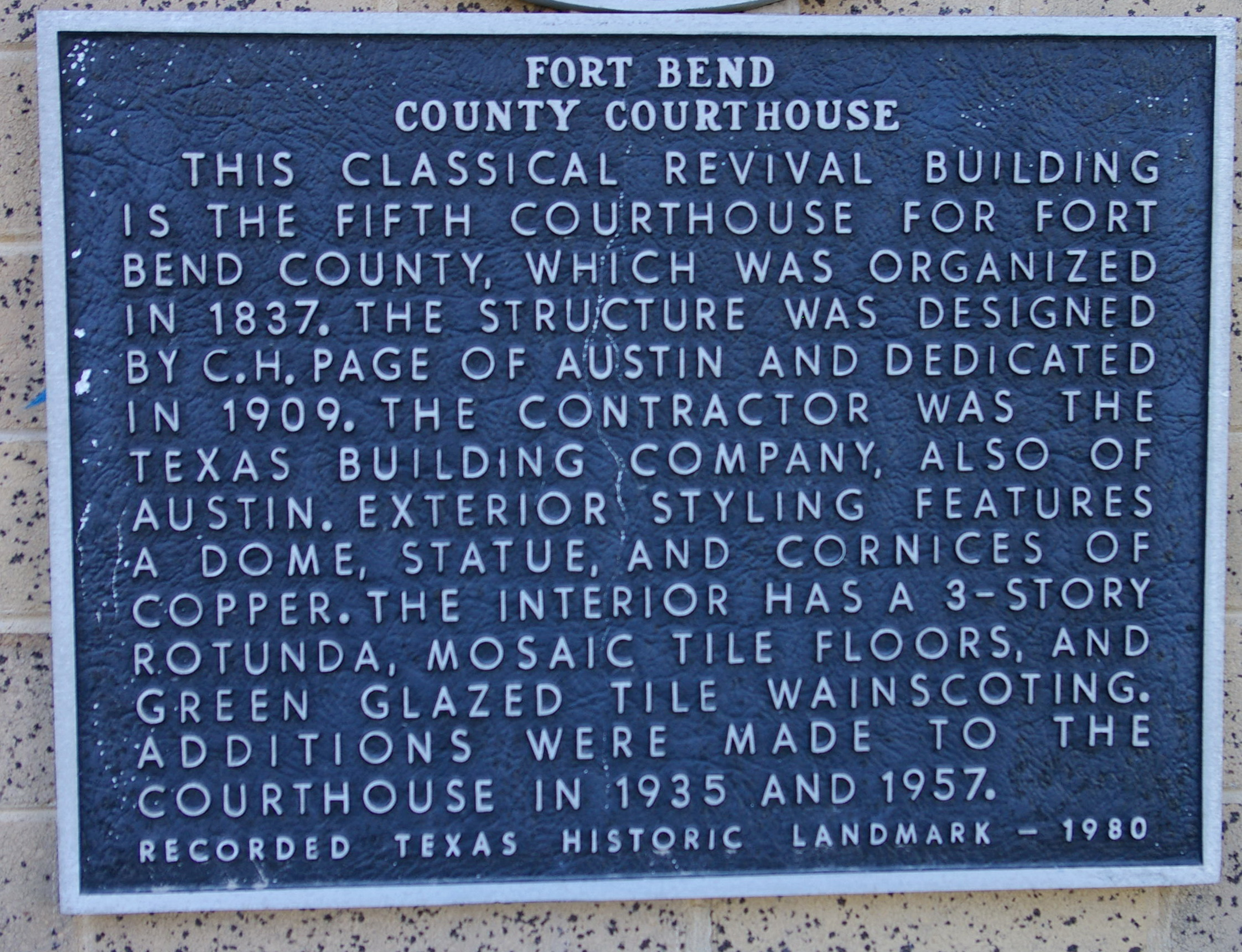 Fort Bend County Us Courthouses