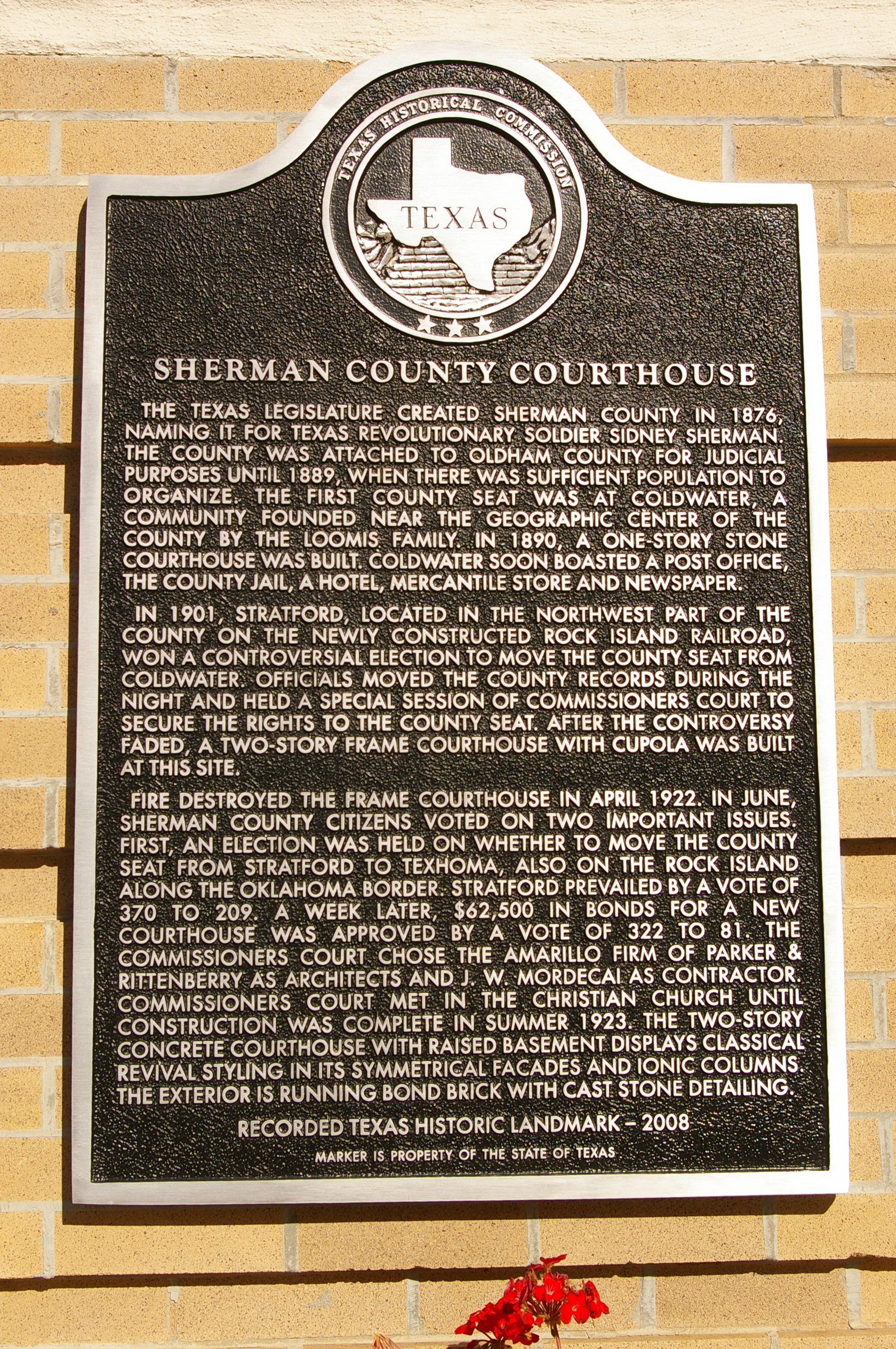 Sherman County Us Courthouses