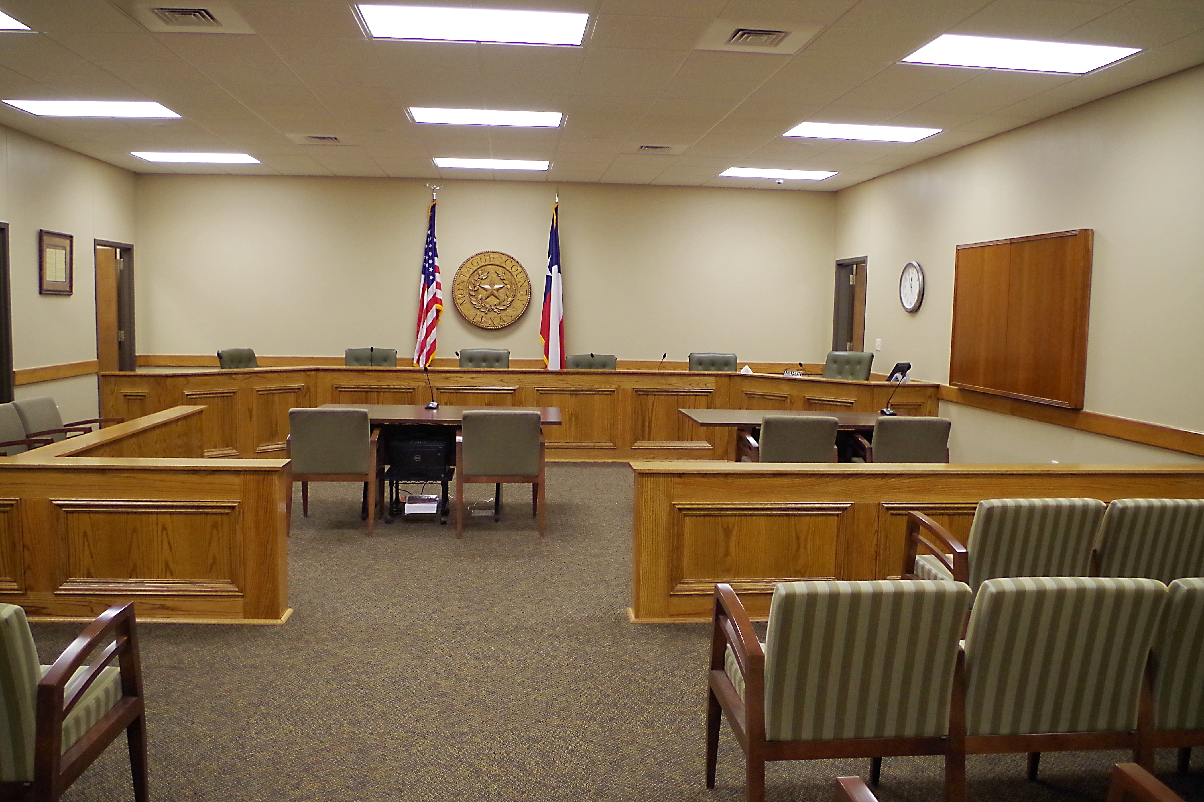 Montague County Us Courthouses