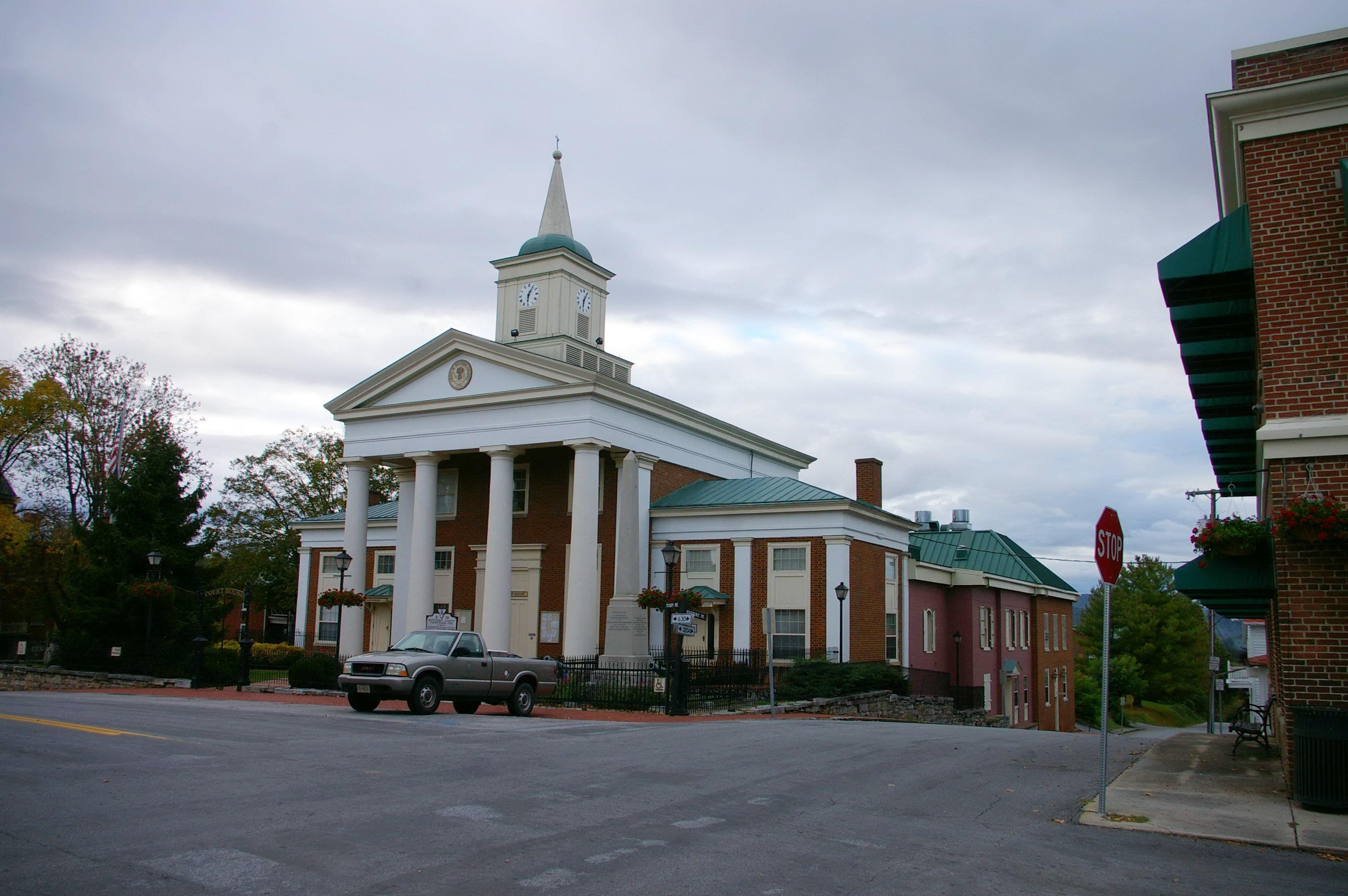 Botetourt County Us Courthouses