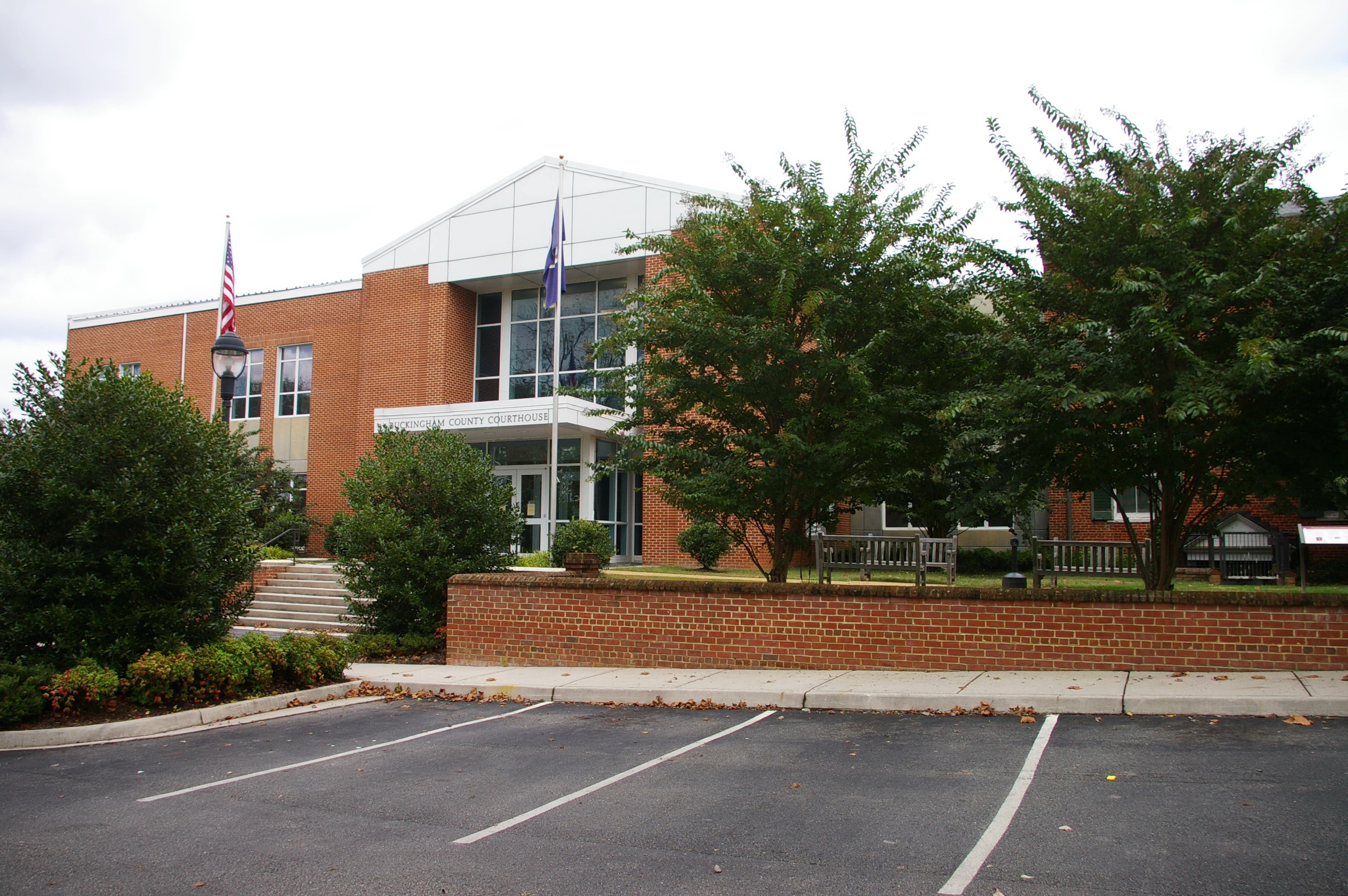 Buckingham County Us Courthouses