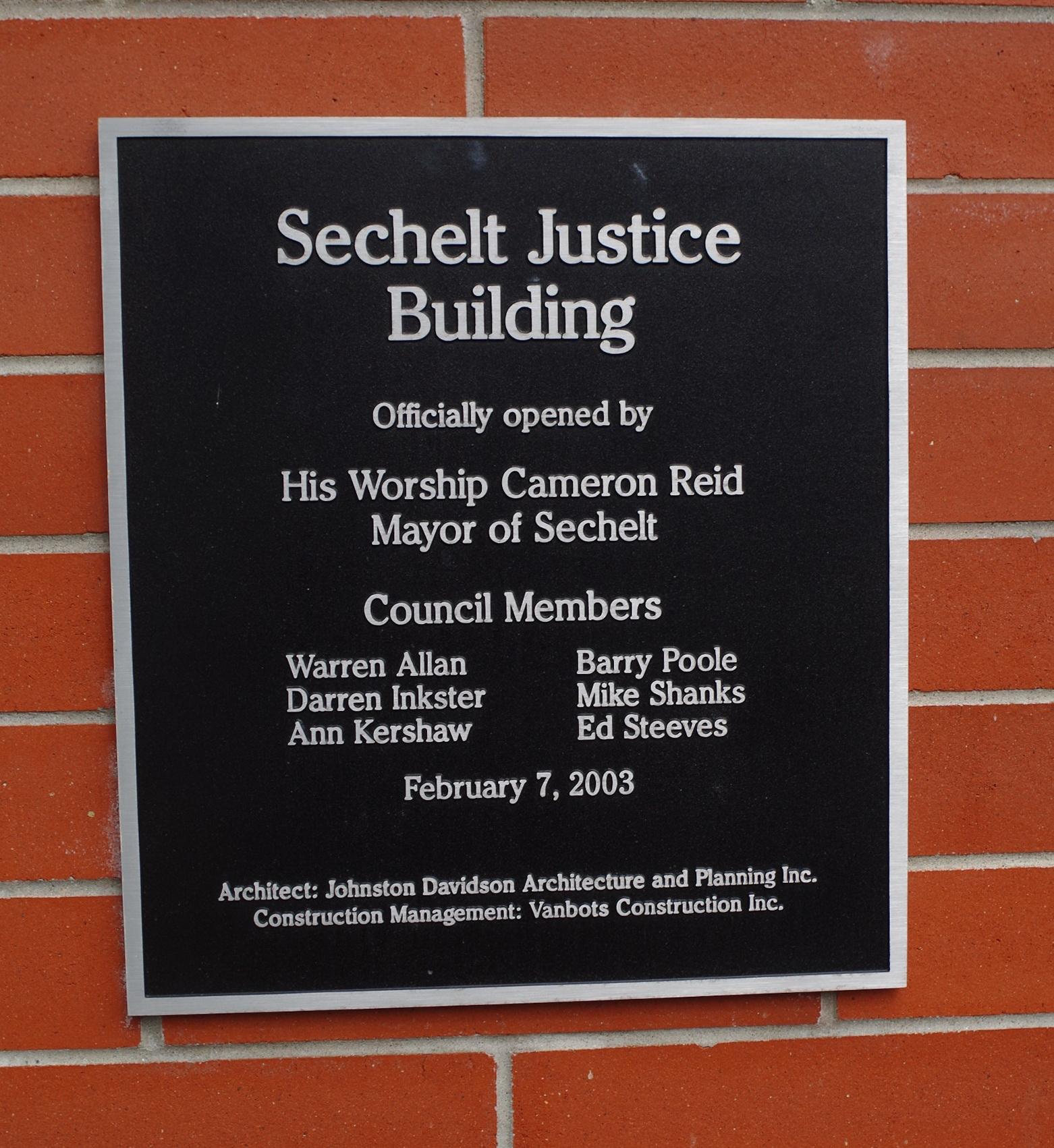 Sechelt Us Courthouses