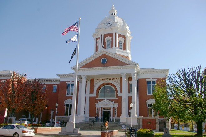 Upshur County Us Courthouses